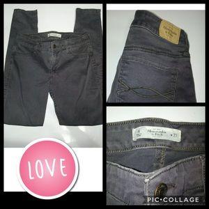 Abercrombie & Fitch New York Jeans Sz W 27 Skinny